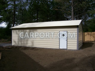 carport.com metal carports metal garage metal barn install photo 4