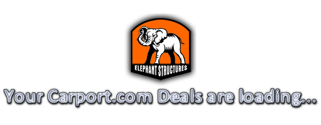 elephant structures at carport.com todays deals