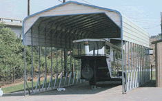 5th wheel trailer metal carport shelter