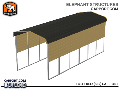 RV, 5th Wheel, Motorcoach Carport Cover Metal Carports - Elephant Structures