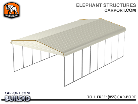 Mobile Home Metal Roof Cover Awning Large Metal Carport Covers - Elephant Structures