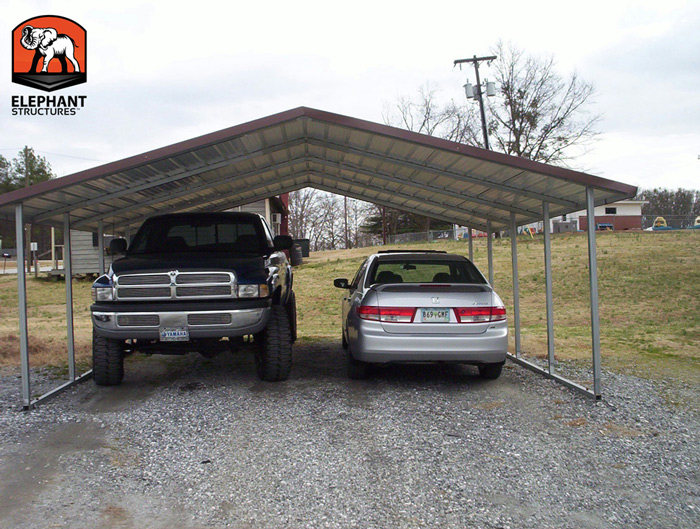 Elephant Carport Shelters : Metal carport kits and other essentials for offroaders