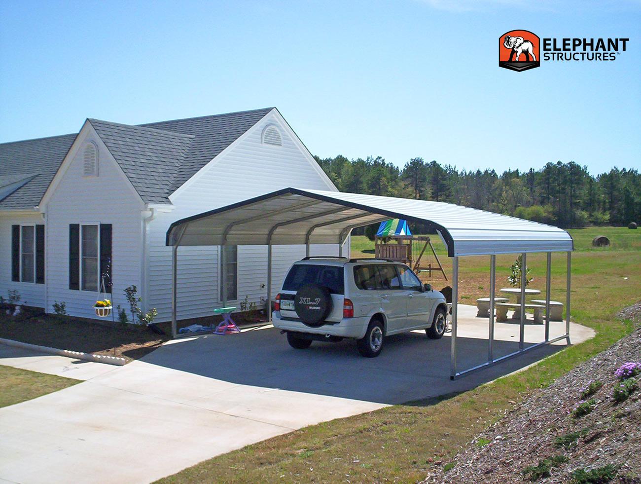 Pre fab carport designed by you for Carport design software