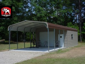 Custom Built Garage Carports from Elephant Structures