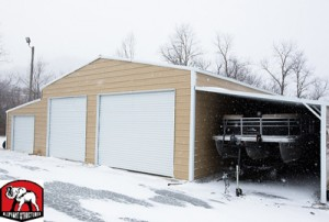 Garage Lean to Carport