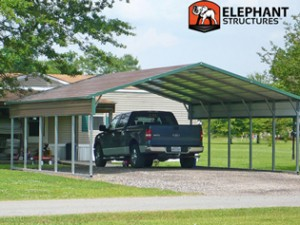 Metal Carport Canopy from Elephant Structures Carport.com