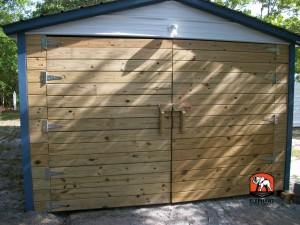 customized garage door