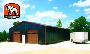 metal garage workshop