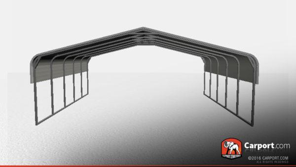 triple wide metal carport