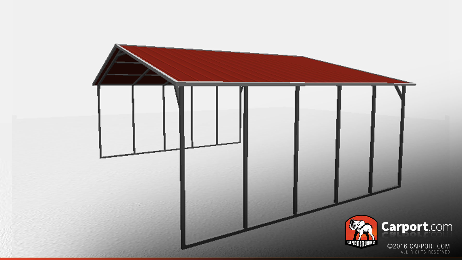 Metal garage carport buildings