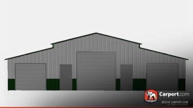 30x40-three-door-ridgeline-style-steel-barn-32327-front