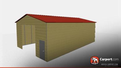 30x50-vertical-roof-metal-workshop-32293-side1
