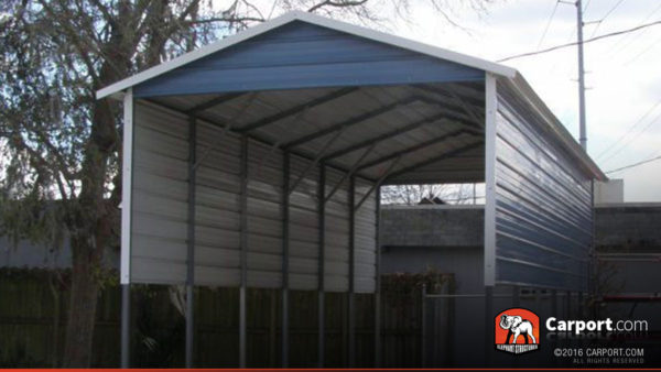 Rv Cover 12 X 31 With A Frame Metal Roof Shop Carports
