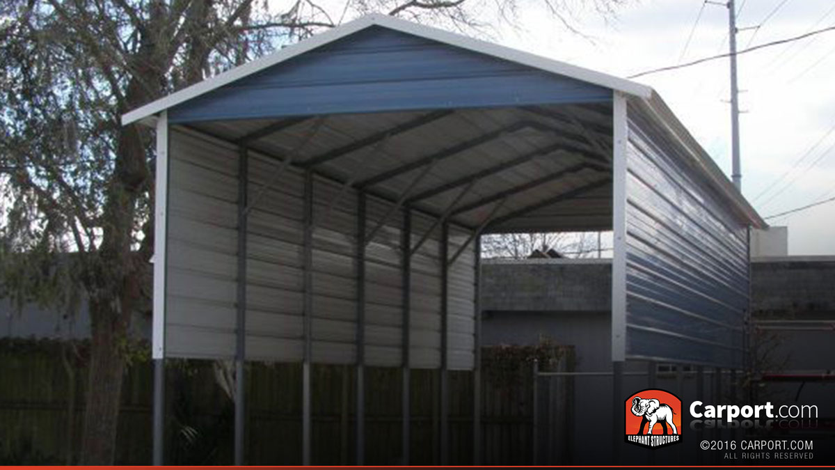 rv cover 12 39 x 31 39 with a frame metal roof shop carports online today. Black Bedroom Furniture Sets. Home Design Ideas