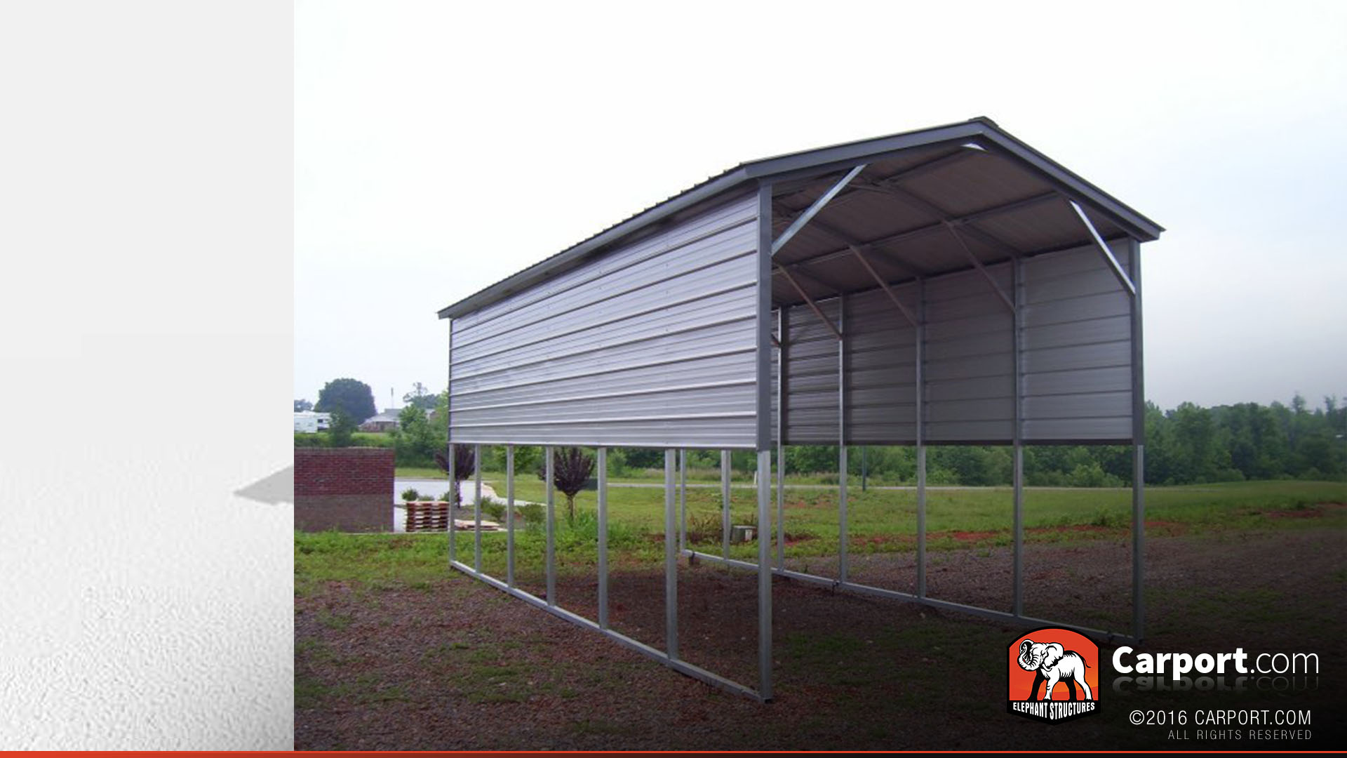 Rv Cover Vertical Roof 12 X 31 Shop Covers Online Today