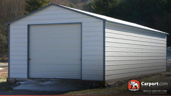 18x26 Steel Garage for One Car