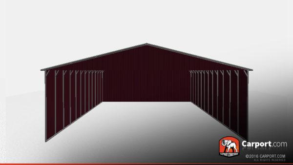 40x51 RV Carport Three-Sided 3