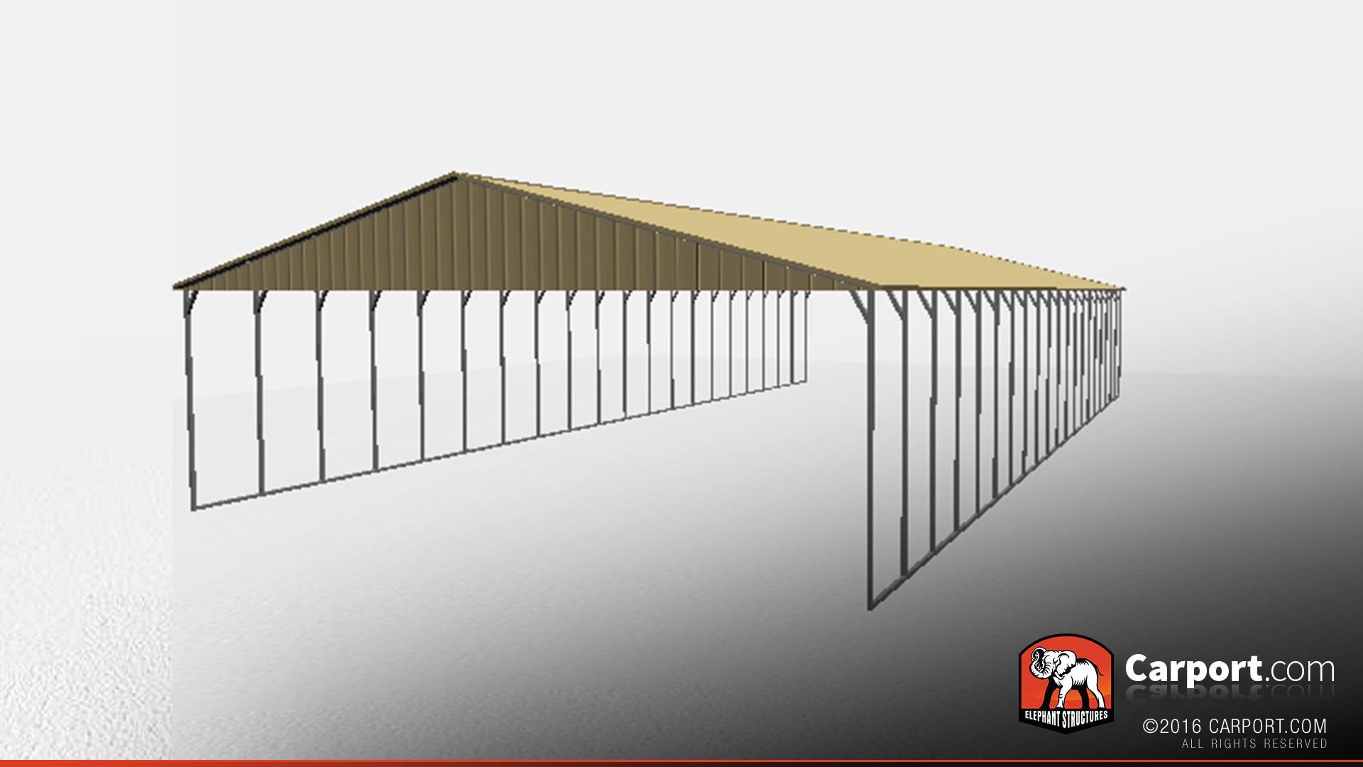 40 39 x 80 39 x 12 39 vertical roof commercial metal carport for Wohnzimmertisch 80 x 40