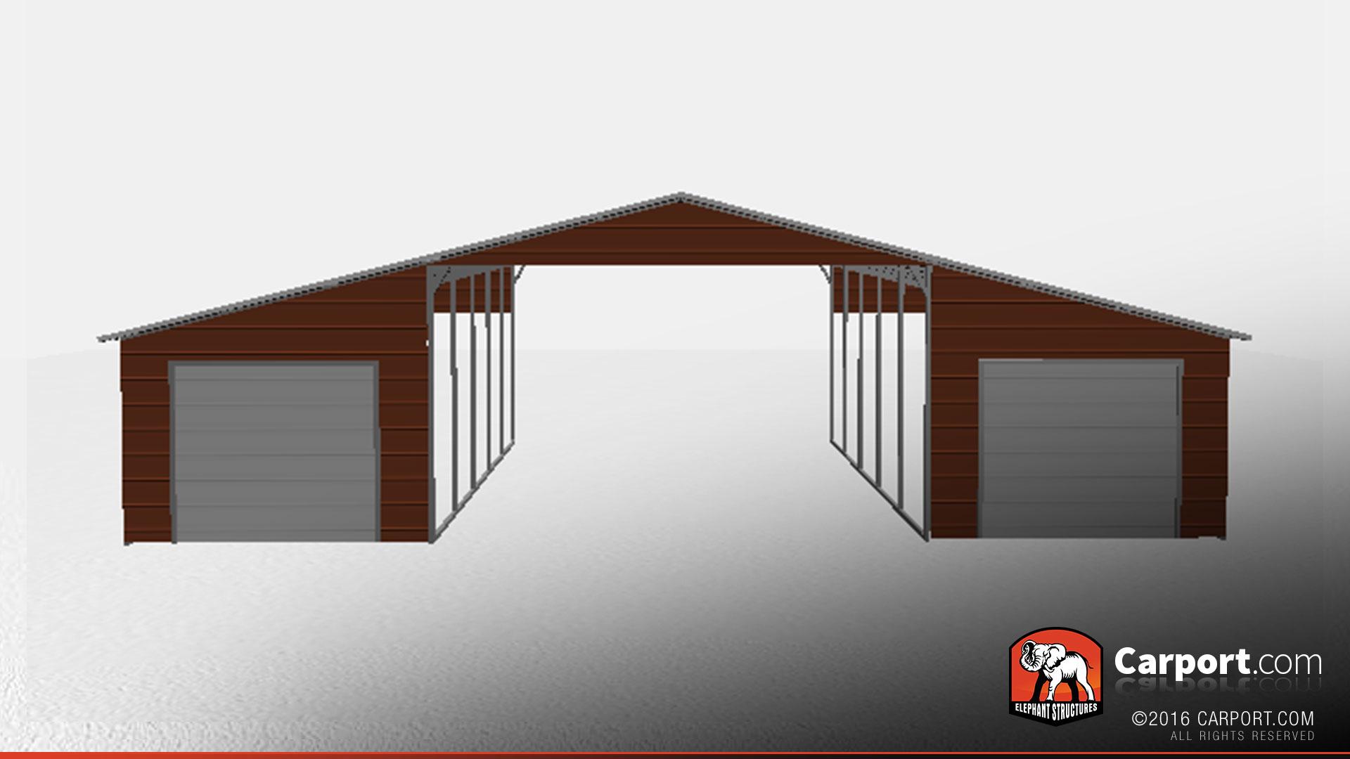 42 x 21 x 12 valley style metal barn shop metal buildings online valley style metal barn