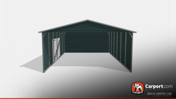 Clearance Metal Carport 2 20x26x9