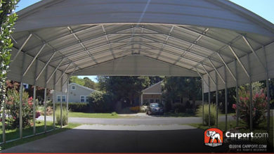 20x26 Custom Metal Carport