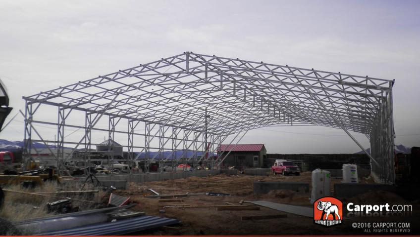 Steel frame insulation