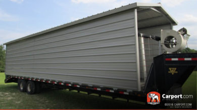 24x41 Custom Single Wide Carport Kit