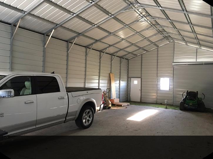 12 Car Garage custom commercial two car garage 24' x 51' x 12' | two car garages