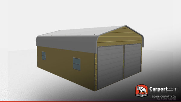 metal building, metal garage