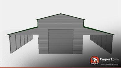 partially-enclosed-metal-barn-one-garage-door-32324-front