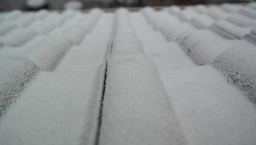snowy carports roof