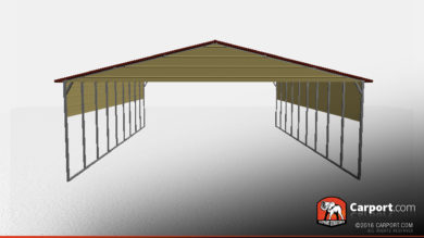 top-quality-triple-wide-metal-carport-shelter-32287-front