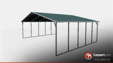 boxed eave carport