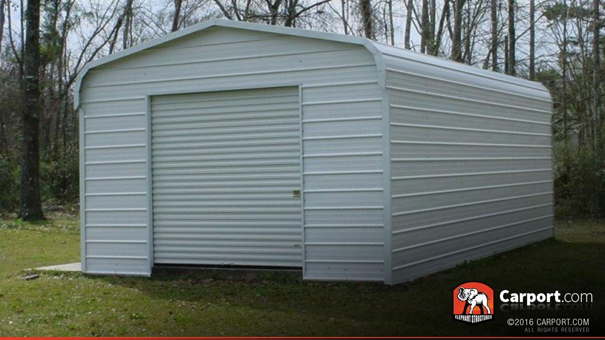 Steel Garage Metal Building 12 X 21 Shop Metal