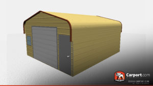 metal shed
