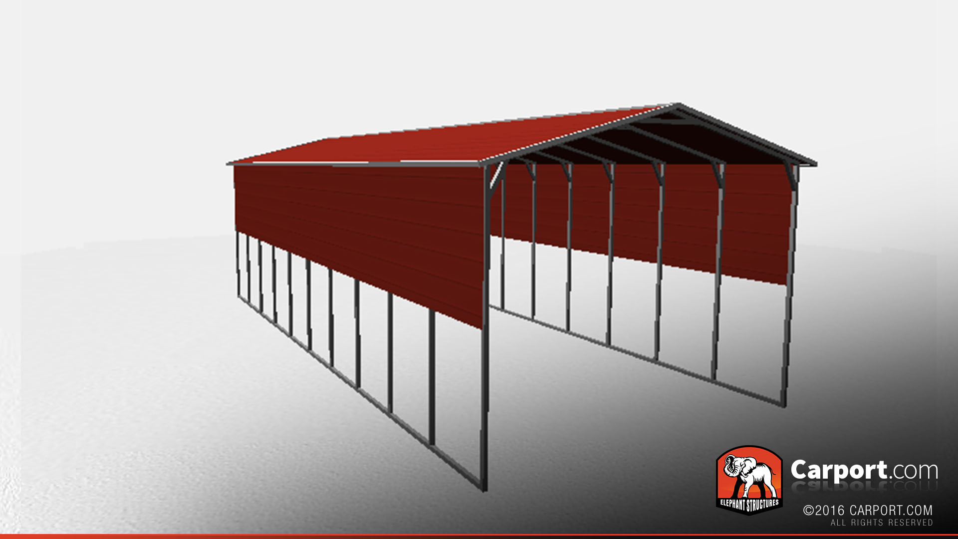 Rv Cover With Metal Roof 18 X 41 X 12 Shop Metal