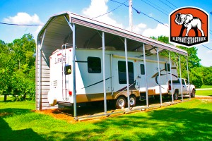 RV Carport from Carport.com and Elephant Structures