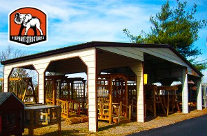 Carport.com Sells Steel Barns Too!