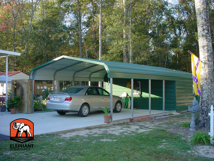Elephant Metal Carports : Dress up a carport