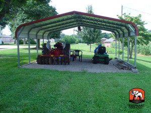 Metal Carport Elephant Structures Carport.com