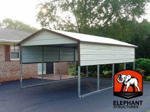 Boxed Eve Carport Canopy