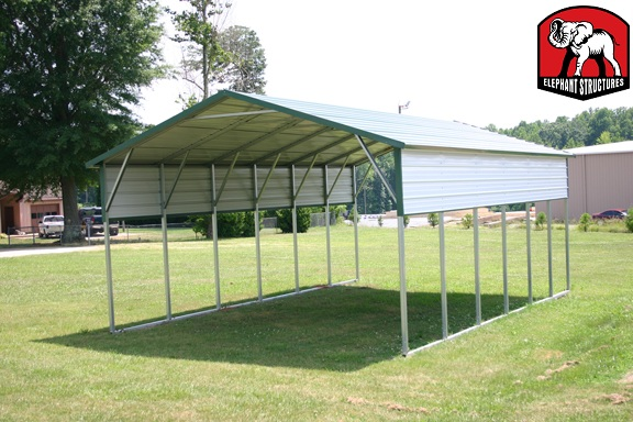 Do It Yourself Carport by Elephant Structures Carport.com