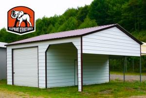 Carport Garage Combo