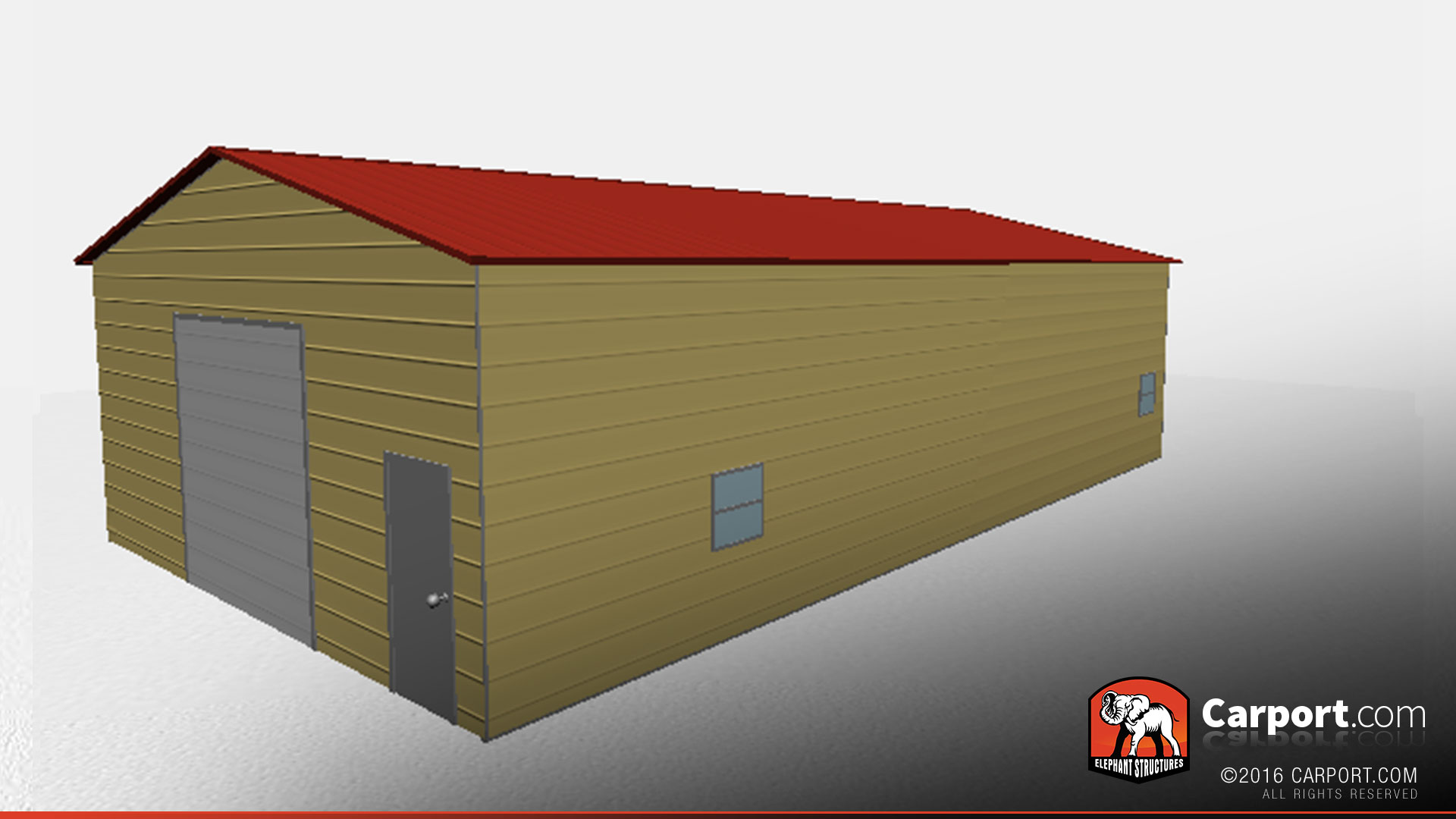 28 39 x 50 39 durable metal warehouse building vertical style for Durable sheds