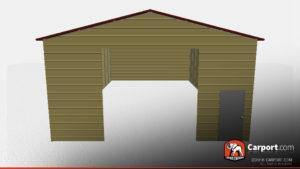 30 x 50 vertical roof metal workshop