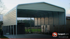 18x26 Double Carport With Metal Roof Shop Metal