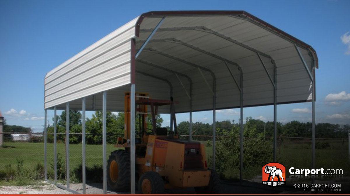 18x26 Motorhome Carport Cover