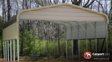 18x26 Boxed Eave RV Carport