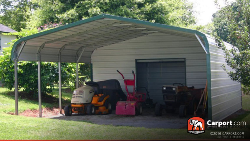 Carports provide shade to keep equipment cool for Cool carports