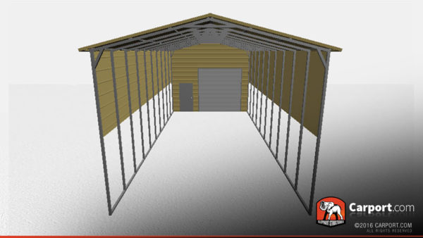 18x61 RV Storage Building Front